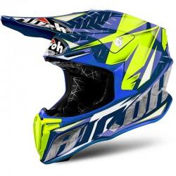 AIROH TWIST, Iron, blue gloss