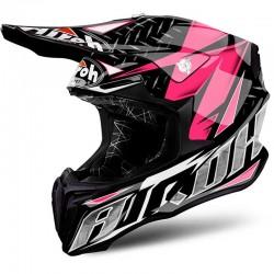 AIROH TWIST, Iron, pink gloss