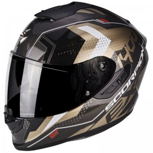 SCORPION EXO 1400 AIR TRIKA Gold-Black