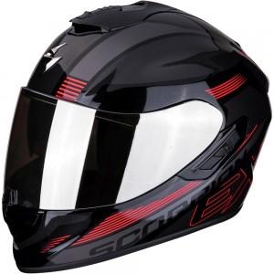 SCORPION EXO 1400 AIR FREE Metal Black-Red