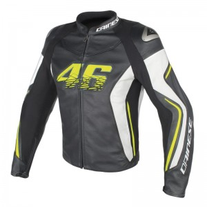 DAINESE VR46 D2 LEATHER JACKET