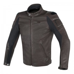 DAINESE STREET DARKER PERF. LEATHER JACKET