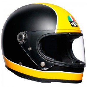 AGV X3000 SUPER AGV MATT BLACK/YELLOW
