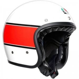 AGV X70 MINO 73 WHITE/RED