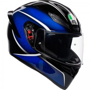 AGV K1 QUALIFY BLACK/BLUE