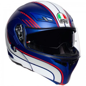 AGV COMPACT ST PLK BOSTON MATT BLUE/WHITE/RED