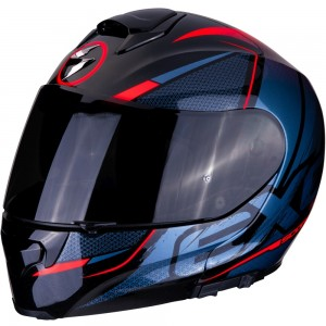 SCORPION EXO 3000 AIR CREED Black-Red