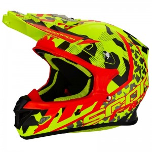 SCORPION VX 21 AIR FURIO Neon yellow-Black-Red