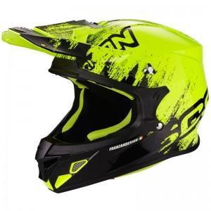 SCORPION VX 21 AIR MUDIRT Black-Neon yellow