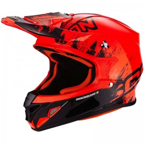 SCORPION VX 21 AIR MUDIRT Black-Neon red