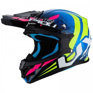 SCORPION VX 21 AIR XAGON Blue-Neon yellow