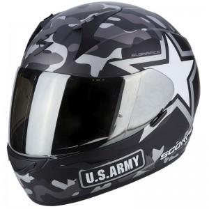 SCORPION EXO 390 ARMY Matt black-Silver