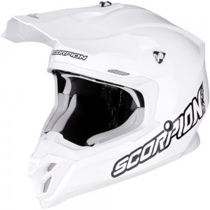 SCORPION VX-16 AIR SOLID White