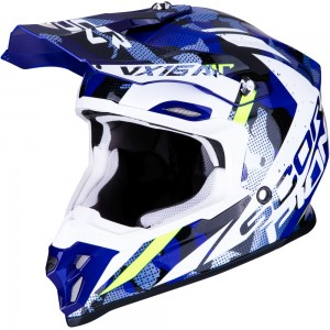 SCORPION VX-16 AIR WAKA Black-White-Blue
