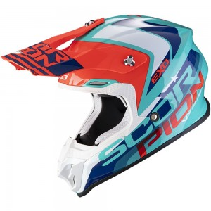 SCORPION VX-16 AIR NATION Green-Blue-Red