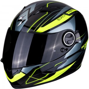 SCORPION EXO 490 NOVA Black-Neon Yellow