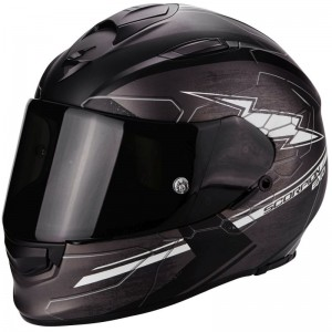 SCORPION EXO 510 AIR CROSS Matt dark grey-Black-White