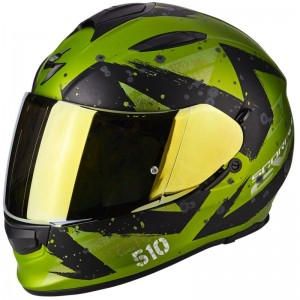 SCORPION EXO 510 AIR MARCUS Matt green-Black