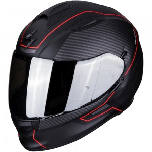 SCORPION EXO 510 AIR FRAME Matt Black-Red