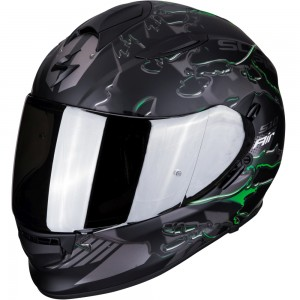 SCORPION EXO 510 AIR LIKID Matt Black-Green