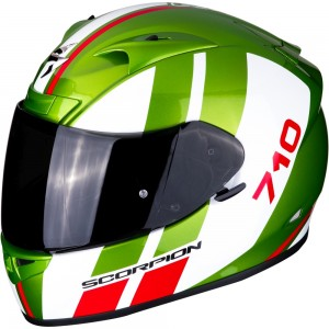 SCORPION EXO 710 AIR GT Green-White-Red