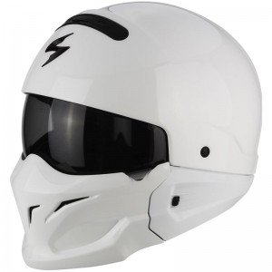 SCORPION EXO COMBAT SOLID White