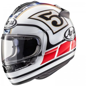 ARAI CHASER-X EDWARDS LEGEND WHITE