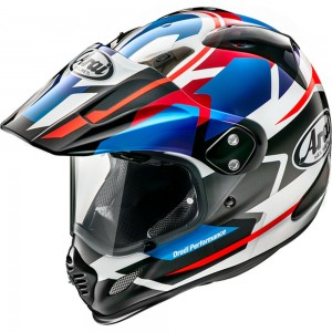 ARAI TOUR-X4 DEPART BLUE METALLIC