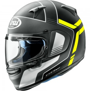 ARAI PROFILE-V TUBE FLUOR YELLOW MATT