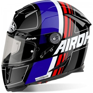AIROH GP 500, Scrape, black gloss