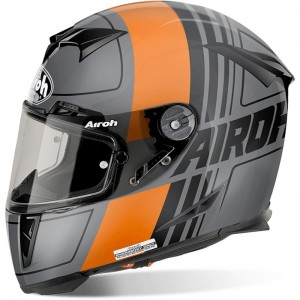 AIROH GP 500, Scrape, orange matt