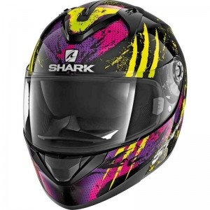 SHARK RIDILL THREEZY color Black Yellow Violet
