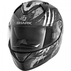 SHARK RIDILL THREEZY color Black White Anthracite MAT