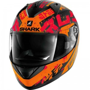SHARK RIDILL KENGAL Mat color Black Orange Red