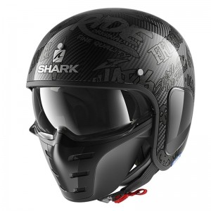 SHARK S-DRAK FREESTYLE CUP color Carbon Anthracite