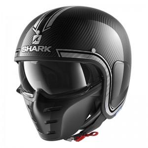 SHARK S-DRAK VINTA color Carbon Chrome Silver