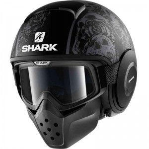 SHARK DRAK SANCTUS MAT color Black Anthracite
