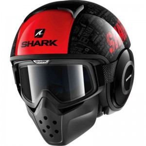 SHARK DRAK TRIBUTE RM color Black Red Anthracite