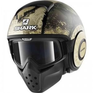 SHARK DRAK EVOK MAT color Black Green Silver