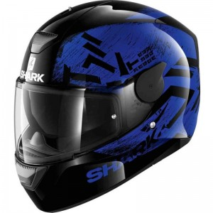 SHARK D-SKWAL HIWO color Black Blue Black