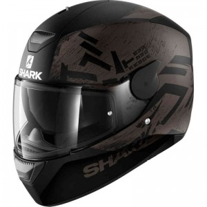 SHARK D-SKWAL HIWO MAT color Black Anthracite Black