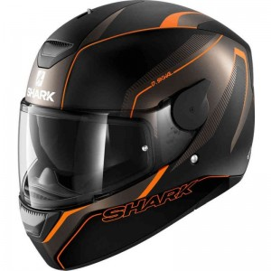 SHARK D-SKWAL RAKKEN MAT color Black Anthracite Orange