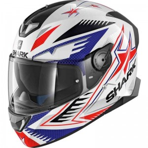 SHARK SKWAL 2 DRAGHAL color White Blue Red
