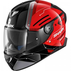 SHARK SKWAL 2 WARHEN color Black Red Black