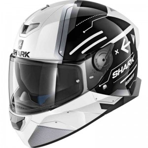 SHARK SKWAL 2 WARHEN color White Black White