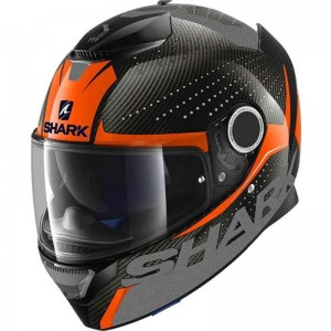 SHARK SPARTAN CARBON CLIFF color Carbon Orange