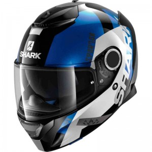 SHARK SPARTAN APICS color Black White Blue