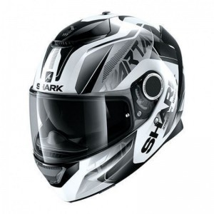SHARK SPARTAN KARKEN  color White Black Black