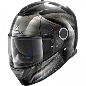 SHARK SPARTAN HOPLITE color Black Chrome Black