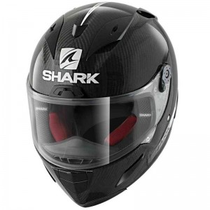 SHARK RACE-R PRO CARBON CARBON SKIN color Carbon White Black